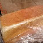 山のパン屋 ダディーズ・ベーカリー - ハニー食パン ハーフ 袋入り