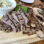 スプリング バレー ブルワリー - 3種肉盛合せ 3,800円