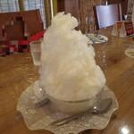龍王 - かき氷(白桃)