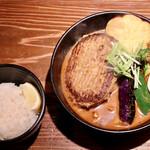 su-pukari-okushibashouten - おくしばーぐカリー海老(5辛)