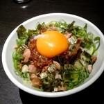 ラーメン こんじき - 肉玉丼