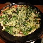 咲くら - 葱ピザ トマトソース \680