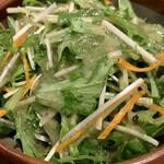 牛苑 - 水菜サラダ