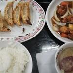 餃子の王将 - 20/8 酢豚定食:891円(税別)