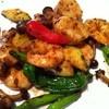 青藍 - 料理写真:海鮮の豆鼓炒め