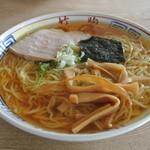 竹駒 - 中華そば(350円)(2012年6月20日訪問)