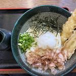 長生うどん - 料理写真:海老おろしに竹輪