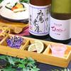 五十六屋 - ドリンク写真:【大分の日本酒を2倍楽しむ♪】豊後銘酒2種飲み比べ ~かぼす・塩を添えて~