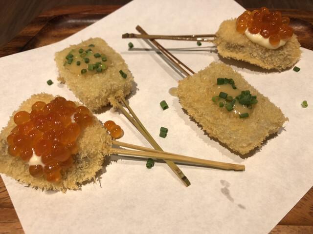 串揚げと和食 もりもと の料理の写真
