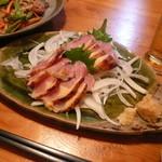 居酒屋りんたろう - 地鶏のたたき ¥680
