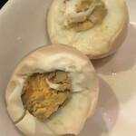 秋 - サービスの煮卵