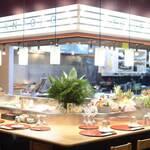 OFUKURO酒場 タンポポ - オープンキッチン