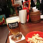135187330 - 【ビールとお通し♡】