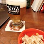135187333 - 【ビールとお通し♡】