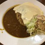元町通り3丁目 - 神戸キーマカレー(ホワイトチーズ追加)