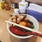 麺屋こころ - 肉入り台湾まぜそば(大蒜なし)