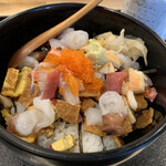 都寿司 - バラちらし ¥950