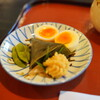 Hyoutei - 料理写真:名物の瓢亭玉子