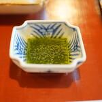 瓢亭 - 蓼酢