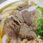 ことり - 鍋焼うどん(牛肉)