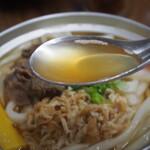 ことり - 鍋焼うどん(出汁)