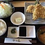 かつ菜 - ロースかつ&アジフライ定食1番人気!