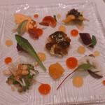 135206812 - シェフセレクト季節の健康野菜の特製オードブル盛り合わせ