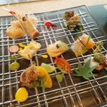鉄板焼き 七里ガ浜 - 前菜 7種の盛り合わせ