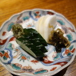 みかわ 是山居 - 2012.06.21 〆食事、香の物
