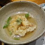 みかわ 是山居 - 2012.06.21 〆食事、貝柱かき揚げの天茶