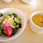 イタリアンクラブ - サラダとスープ
