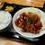 鳥酎 - あんかけ鶏南蛮定食・大盛(800円)