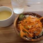 135217931 - スープ&サラダ@ぎゅうぎゅう詰め