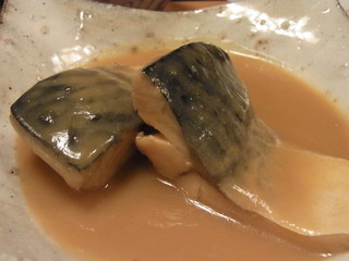 面 - 鯖味噌