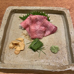 牛タンと野菜巻き串 おくを -