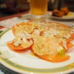 サッカール - トマトサラダ