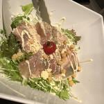 旬鮮魚と個室和食 別邸 膳屋 - シーザーサラダ