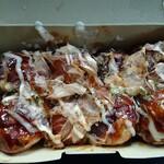 焔 - 料理写真:たこ焼き:ソースマヨ