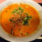 菜香楼 - ラーメンセットの担々麺 アップ