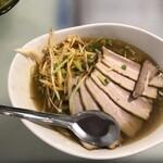 紫福庵 - 耐力麺(スタミナ麺)