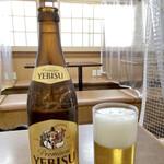 135239941 - 昼のビールがしみる〜♪