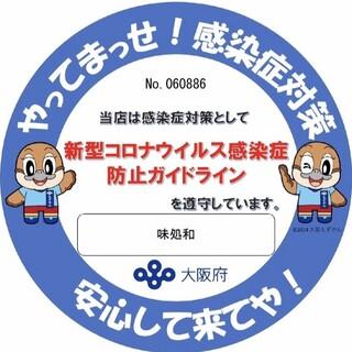 新型コロナウイルス感染拡大防止への取り組みを徹底