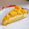 キル フェ ボン - 料理写真:マンゴーとオレンジのレアチーズタルト