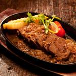 米とサーカス - 鹿ロースステーキ まさしく肉!ジューシーな厚切りステーキ!
