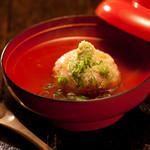 米とサーカス - 海老蓮根饅頭 料理長が1つ1つ愛情こめて作ります