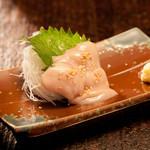 米とサーカス - まさに珍味な山羊の金玉刺 精力モリモリ滋養食