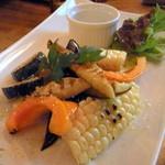小さなワイン食堂 タブリエ - 【2012-6】野菜のグリル♪