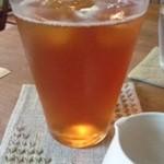 ティールーム 紅茶の森 - アイスティー
