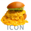 ICON - 料理写真:マッカンバーガー