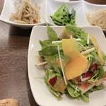 肉バル SHOUTAIAN - 前菜 サラダ お野菜たっぷり